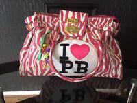 Pauls boutique pink Zebra Bag