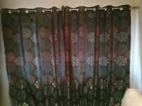 Nearly new curtains
