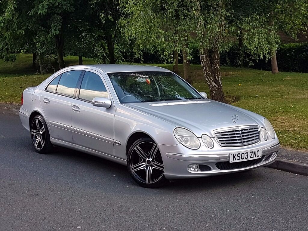 2003 mercedes e220 cdi avant garde auto top spec bargain px welcome in hall green west. Black Bedroom Furniture Sets. Home Design Ideas