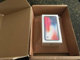 iPhone X 256gb Space Grey or Silver NEW n BOXED buy it now £1350.