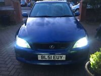 Lexus is200 Automatic, LPG converted, 4 door saloon