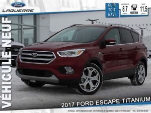 2017 Ford Escape Titanium*100$/Semaine* *LF*