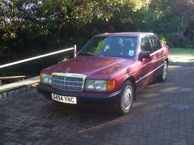 Mercedes 190D 2.5 1990 'G'