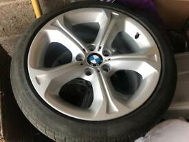 "BMW wheels with Pirelli winter tyres 18"""