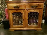 Solid oak sideboard, unit, dresser