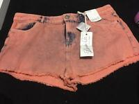 Ladies denim shorts size 18