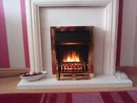 Electric Fire with Flame Effect
