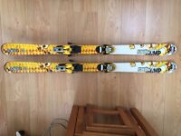 Stockli Snake Jump Twin Tip Kids Skis with Bindings 137cm
