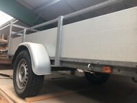 8 x 4 Aluminium Trailer With drop Down Front And Rear
