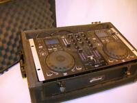 Gemini CDM-3600 Professional DJ Station Mixer in Case Spares or Repair (WH_1628)
