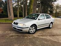SKODA OCTAVIA SALOON-DIESEL MANUAL SILVER-START RUNS PERFECT-NO ISSUES-MOTED-TAXED-INSURED