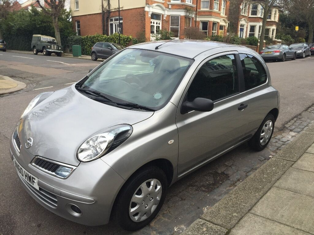 nissan micra visia 2010 less than 28830 miles excellent. Black Bedroom Furniture Sets. Home Design Ideas