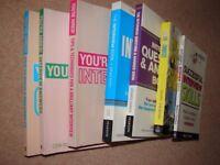 Interview & CV books x7