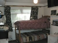 Large single/twin room, South facing, fully furnished, European house NON-SMOKING
