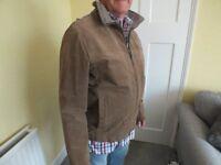 GENTs designer SUEDE jacket size large,£12.