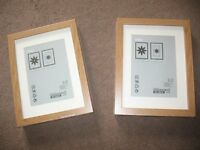 "Ikea ""Ribba"" picture frames - BRAND NEW & UNOPENED!!!"