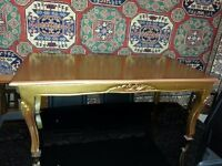 beautiful french coffee table. excellent condition.