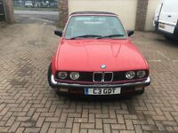 BMW 320i Red 1998 collectors car