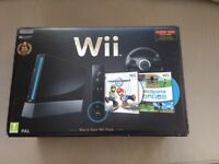 Nintendo Wii console, games and Wii fit board. All in excellent condition.