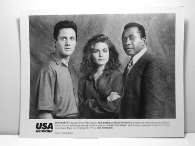 Press Photo Silk Stalkings Ben Vereen Rob Estes Mitzi Kapture