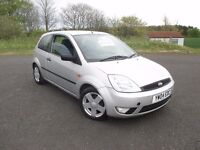 2004 FORD FIESTA FLAME 1.4 FULL MOT, ALLOY WHEELS, 2 KEEPERS, HISTORY