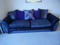 Pair DFS 4 Seater Sofas Only