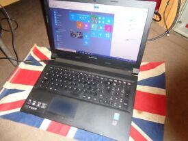 Lenovo Laptop B50-70 Intel i5-4210U 1.7 - 2.40 GHz 8GB RAM 500GB HDD Windows 10 Office 2013