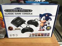 Sega mega drive classic 81 built in games