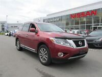 2013 Nissan Pathfinder SL 4X4 LEATHER,7 PASS,HEATED FRONT SEATS,