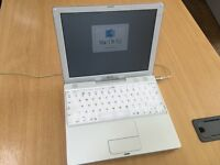 iBook 2001 - Vintage/Obsolete M6497, with carry case