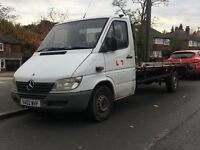 Mercedes Sprinter Recovery Truck 2002 White LWB Cheap