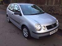 2004 04 VW POLO 1.4 ** LOW MILEAGE ** CHEAP CAR ** IDEAL FIRST CAR **
