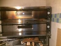 ELECTRIC PIZZA OVEN SINGLE AND THREE PHASE DOUBLE DECK prismafood