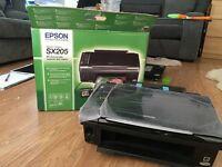 EPSON Stylus SX205 Inkjet Printer SX205-PRINTER