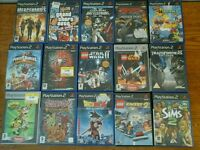 Unchecked ps2 games, £1 each