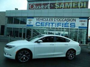 2015 Chrysler 200 C AWD (4X4) REGULATEUR ADAPTATIF + NAVIGATION