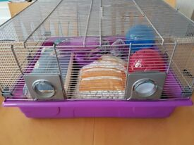 Hamster cage and accessories - Genus 300