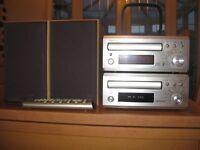 Denon UD-M30 CD Receiver & DRR-M30 Cassette tape deck