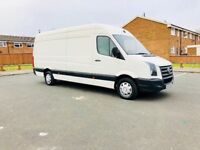 vw crafter 2.5tdi 57 plate 2008 long wheel base full history service from new and 6 months warranty