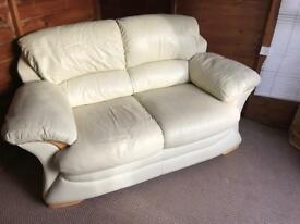 Sofa real leather