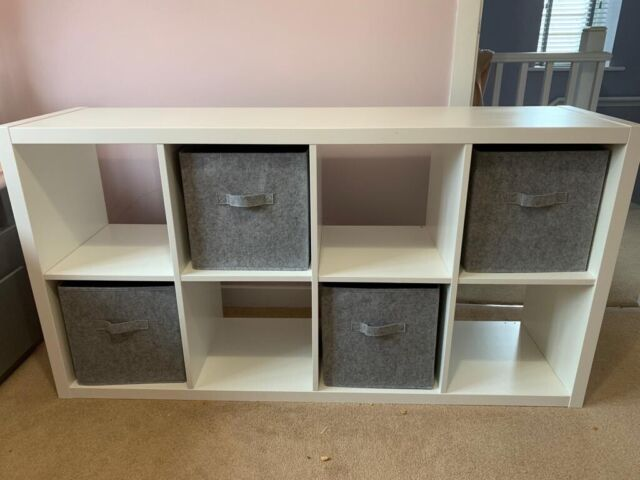 online store 8bd19 25935 Ikea kallax shelf 2x4 storage unit | in Newton Aycliffe, County Durham |  Gumtree