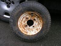 8 Inch Trailer Wheel Standard Fit Weymouth