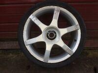 Ford alloy wheels x4
