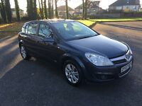 VAUXHALL ASTRA DESIGN 1.8i 07-07 97K S/H MOT OCT 2017 EXCELLENT DRIVE/ CONDITION ONLY £1299
