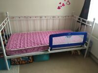 Girl's single bed - perfect condition