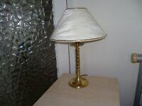 Brass Base lamp