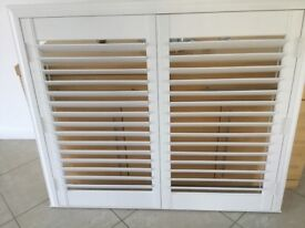 White Faux Wood Shutter Brand New can be for Wet Room