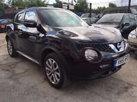 Nissan Juke 1.5 dCi Tekna 5dr (start/stop)£10,950 . FREE 12 MONTH WARRANTY