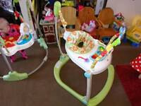Baby bouncer Fisher price spacesaver folding jumperoo