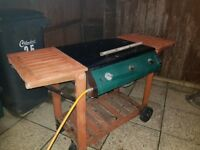 Gas BBQ free. Good condition just needs some tlc after being kept in garden